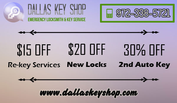 Dallas Key Shop TX Coupon